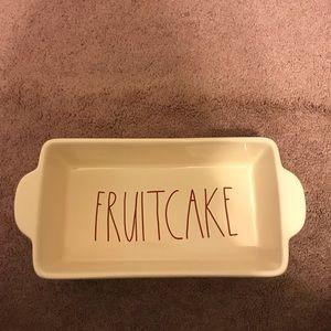 Rae Dunn Fruitcake Baking Loaf
